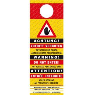 Ózonra figyelmeztető tábla Mutatás a Trotec Webshopban