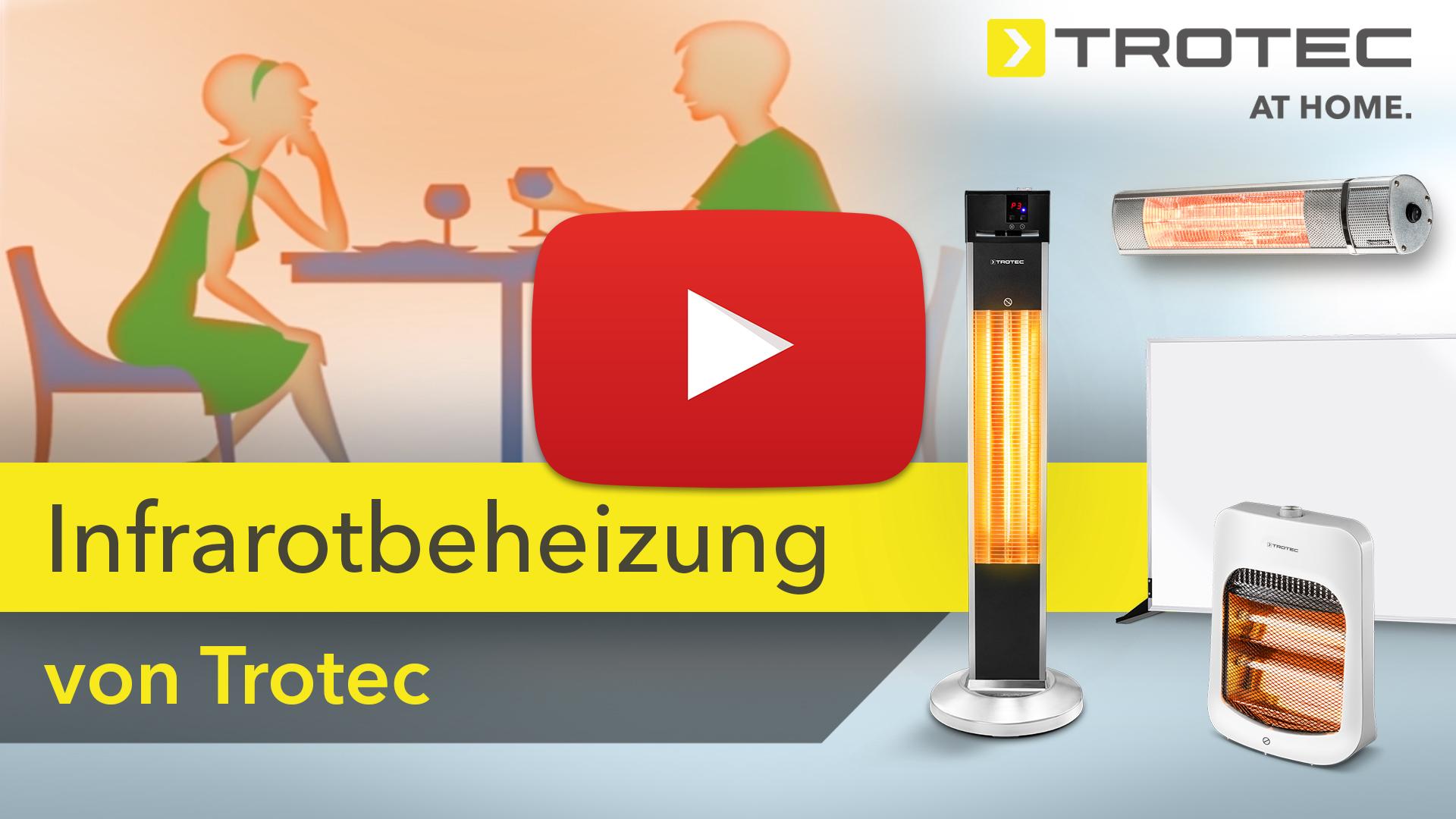 Heizstrahler   Infrarotstrahler   TROTEC