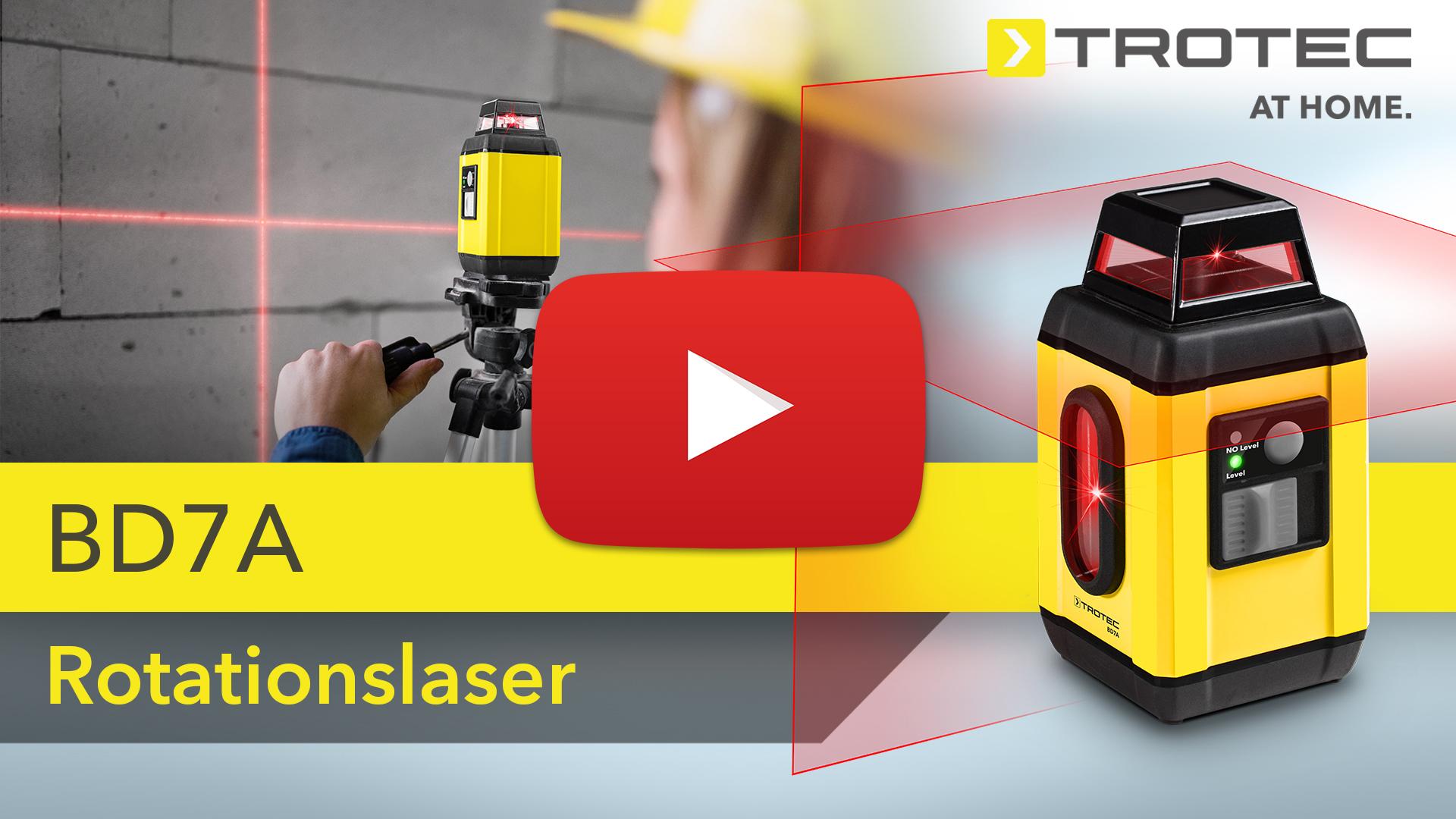 Laser Entfernungsmesser Datenlogger : Rotationslaser bd a trotec