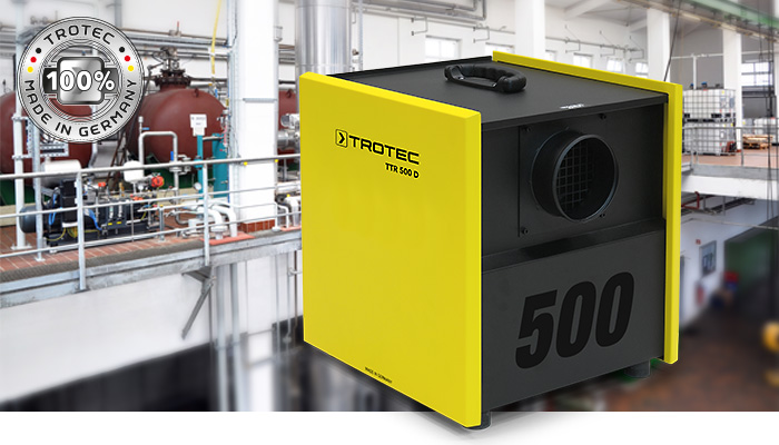 Adsorptionsluftentfeuchter trotec ttr 500 d trotec