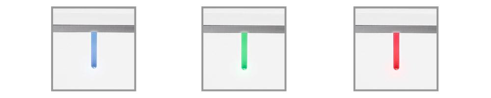 Цветной светодиодный индикатор текущей влажности