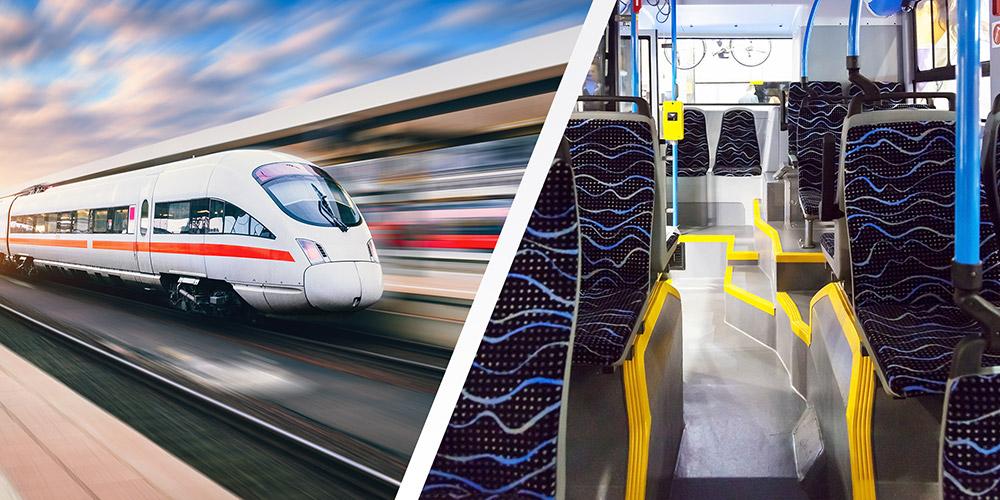 Ozondesinfektion von Bussen und Bahnen-Trotec