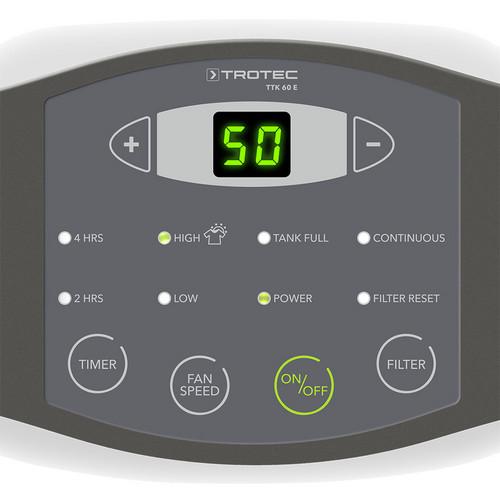ТТК 60 Э - панель управления