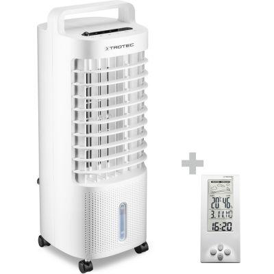 Aircooler, Luftkühler, Luftbefeuchter PAE 11 + Design-Wetterstation BZ06