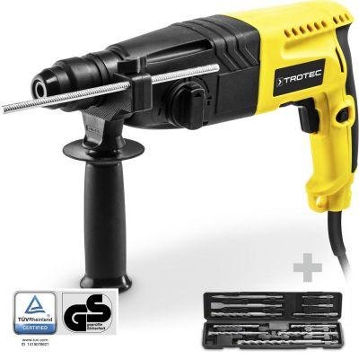 Bohrhammer / Meißelhammer PRDS 05-230V + Bohrer- und Meißel Set, 11-teilig