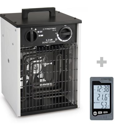 Elektroheizer TDS 20 + Raum-Thermohygrometer BZ05