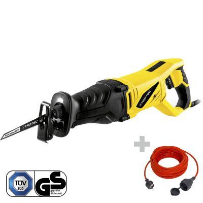 Säbelsäge PRCS 10-850 + Qualitäts-Verlängerungskabel 15 m / 230 V / 1,5 mm²