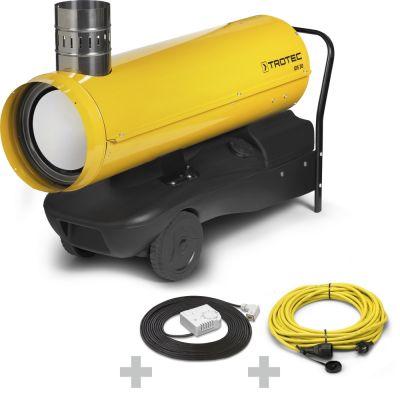 Ölheizer IDS 30 + Profi-Verlängerungskabel + Ext. Thermostat