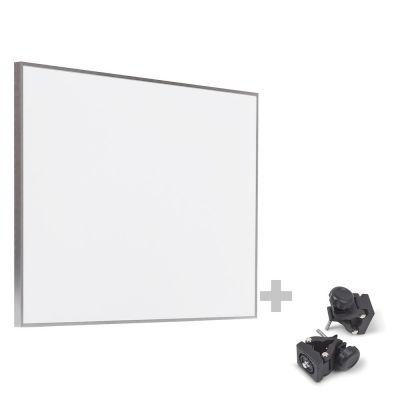 Infrarot-Heizplatte / Infrarotheizung TIH 500 S + Befestigungsklammern