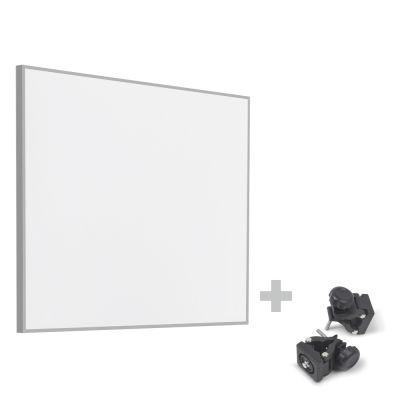 Infrarot-Heizplatte / Infrarotheizung TIH 300 S + Befestigungsklammern