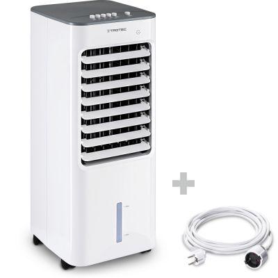 Aircooler, Luftkühler, Luftbefeuchter PAE 21 + PVC-Verlängerungskabel