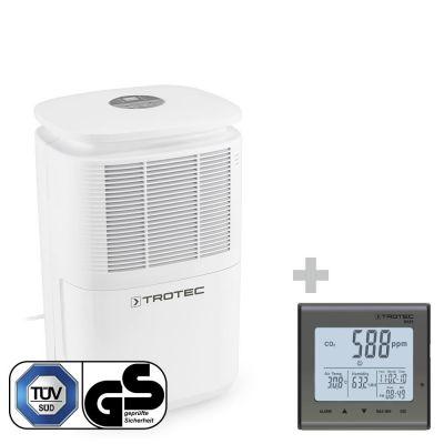 Luftentfeuchter TTK 30 E + CO2-Luftqualitätsmonitor BZ25