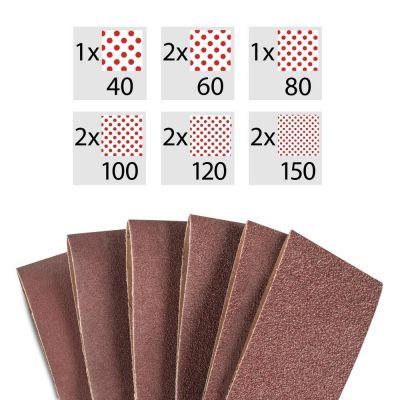 Bandschleifpapier-Set 10-Teilig
