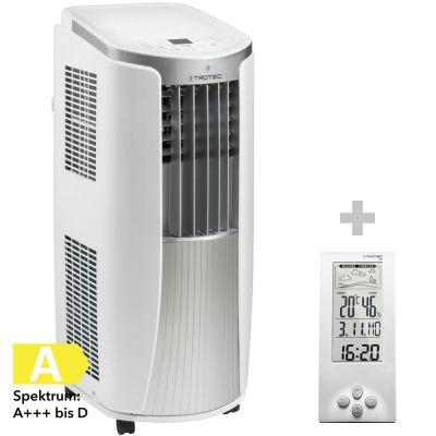 Lokales Klimagerät PAC 2610 E + Design-Wetterstation BZ06