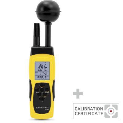 Thermohygrometer TC100 inkl. Kalibrier-Zertifikat