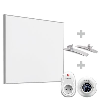 Infrarot-Heizplatte TIH 400 S inkl. Funk-Thermostat BN35 und Standfüße