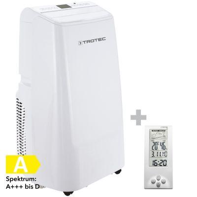 Lokales Klimagerät PAC 3500 E + Design-Wetterstation BZ06