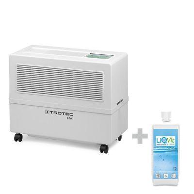 Verdunstungs-Luftbefeuchter B 500 Funk + LiQVit 1000 ml