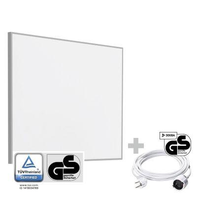 Infrarot-Heizplatte / Infrarotheizung TIH 300 S + PVC Verlängerungskabel 5 m
