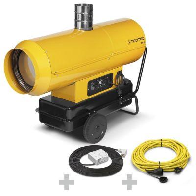 Ölheizer IDS 45 + Profi-Verlängerungskabel + Ext. Thermostat