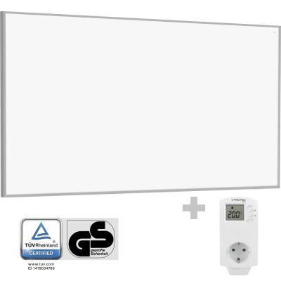 Infrarot-Heizplatte / Infrarotheizung TIH 700 S + Steckdosen-Thermostat BN30