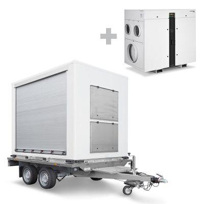 TTR Cargo inklusive Adsorptionstrockner TTR 8200