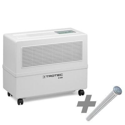 Verdunstungs-Luftbefeuchter B 500 Funk + SecoSan Stick 30