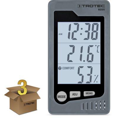 Raum-Thermohygrometer BZ05 im 3er Paket