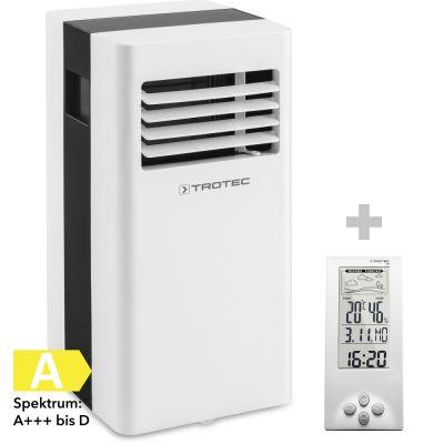 Lokales Klimagerät PAC 2100 X + Design-Wetterstation BZ06