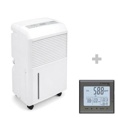 Luftentfeuchter TTK 90 E + CO2-Luftqualitätsmonitor BZ25