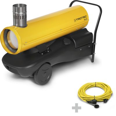 Ölheizer IDS 20 + Profi-Verlängerungskabel 20 m / 230 V / 2,5 mm²