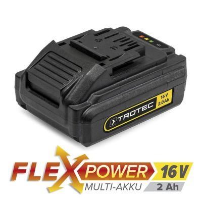 Zusatz-Akku Flexpower 16V 2,0 Ah
