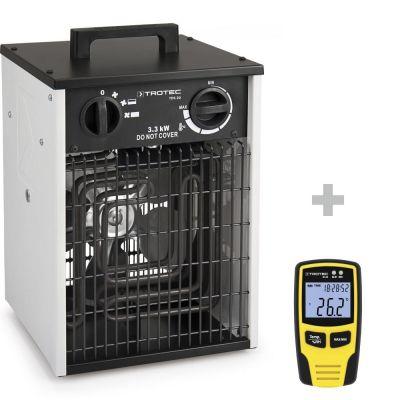 Elektroheizer TDS 20 + Klimadatenlogger BL30