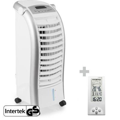 Aircooler, Luftkühler, Luftbefeuchter PAE 25 + Design-Wetterstation BZ06