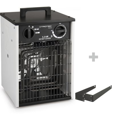 Elektroheizer TDS 20 + Wand- und Deckenhalterung