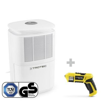 Luftentfeuchter TTK 30 E + Akku-Schrauber PSCS 11-3,6V mit Bit-Magazin