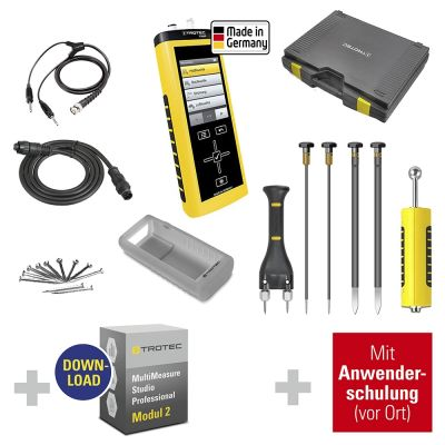 Messpaket Wasserschadenbeseitiger + MM Studio Pro + Anwenderschulung