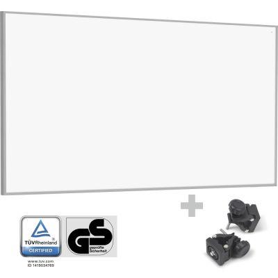 Infrarot-Heizplatte / Infrarotheizung TIH 700 S + Befestigungsklammern