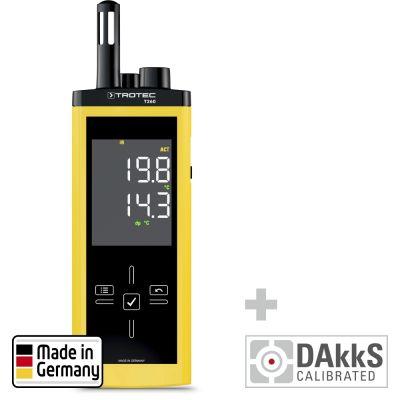 T260 Infrarot-Thermohygrometer - Kalibriert nach DAkkS D.2101