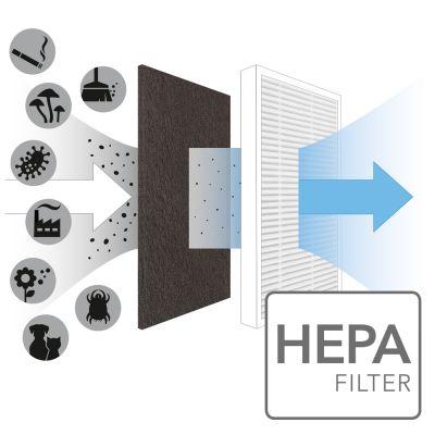 True HEPA-Filter für AirgoClean 10 E
