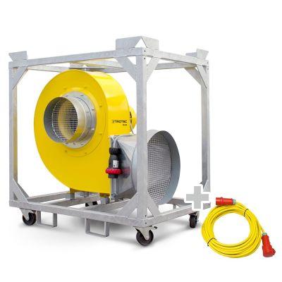 Radialventilator TFV 300 + Profi-Verlängerungskabel 20m / 400 V / 2,5mm²