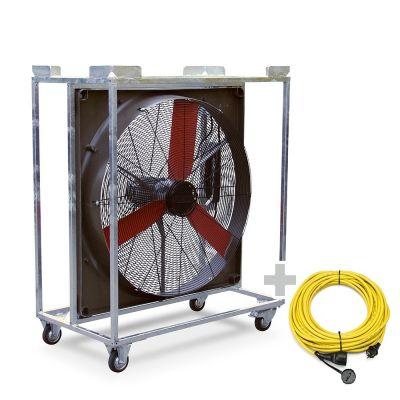 Windmaschine TTW 20000 + Profi-Verlängerungskabel 20 m / 230 V / 2,5 mm²