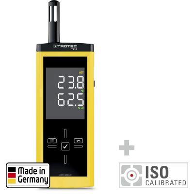 T210 Thermohygrometer - Kalibriert nach ISO I.2101