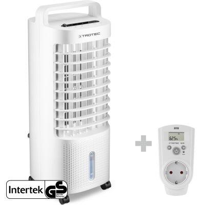 Aircooler, Luftkühler, Luftbefeuchter PAE 11 + Steckdosen-Hygrostat BH30