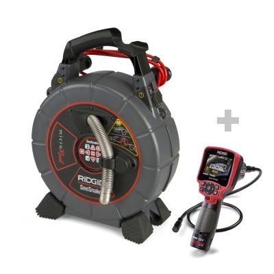 Rohrkamera SeeSnake microReel + Digital-Inspektionskamera micro CA-350x