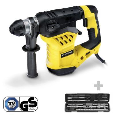 Bohrhammer / Meißelhammer PRDS 11‑230V + Bohrer- und Meißel Set