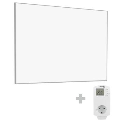 Infrarot-Heizplatte / Infrarotheizung TIH 1100 S + Steckdosen-Thermostat BN30