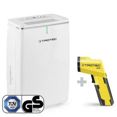 Luftentfeuchter TTK 72 E + Pyrometer-Taupunktscanner BP25
