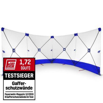 VarioScreen-Sichtschutzwand 4*180*180 Blau
