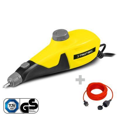 Graviergerät PEGS 10-230V + Qualitäts-Verlängerungskabel 15 m / 230 V / 1,5 mm²